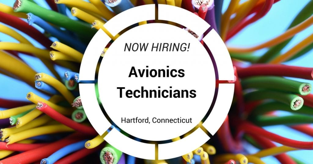 STS is Hiring Avionics Technicians in Hartford, Connecticut