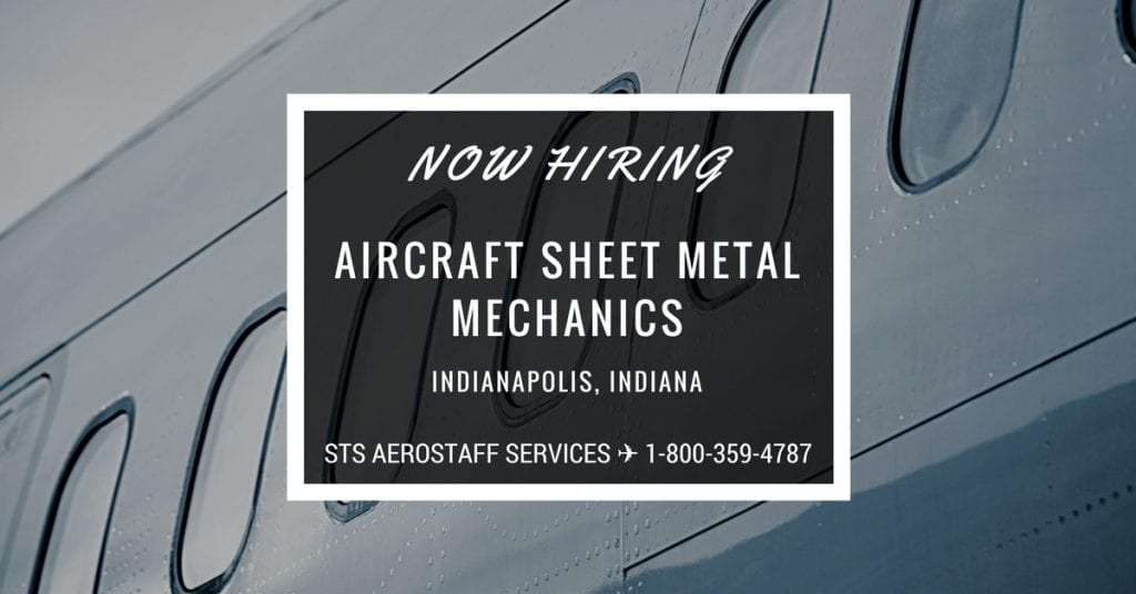 Aircraft Sheet Metal Mechanic Jobs In Indianapolis Indiana